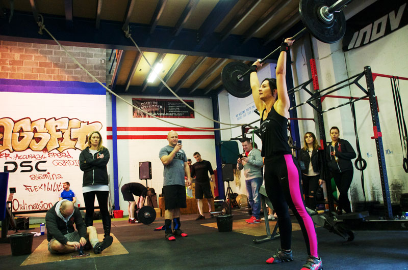 CrossFit workout and class