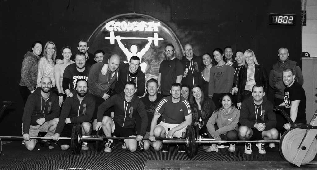 crossfit class and crossfit wod
