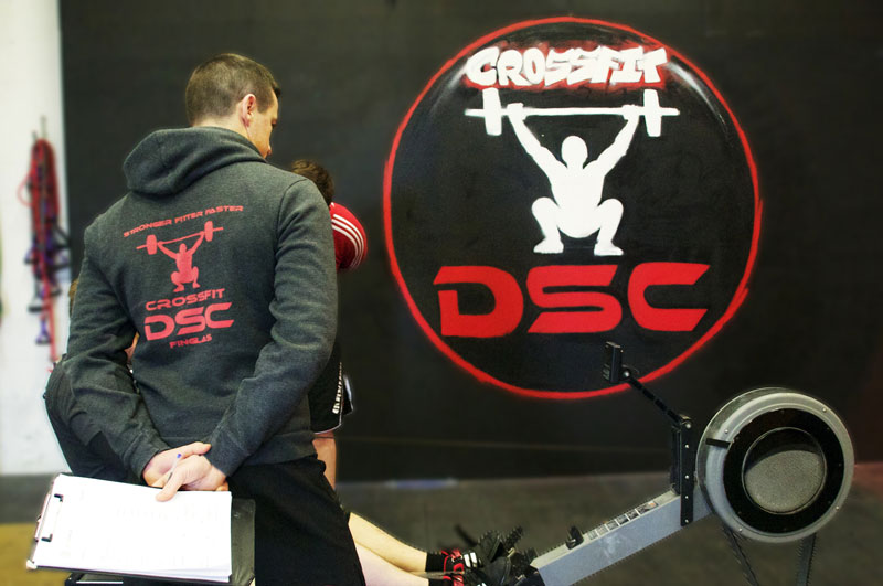 What happens at a CrossFit Class in DSC?